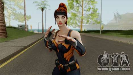Artemis From DC Unchained for GTA San Andreas