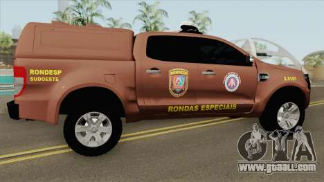 Ford Ranger 2017 Rondesp Sudoeste for GTA San Andreas