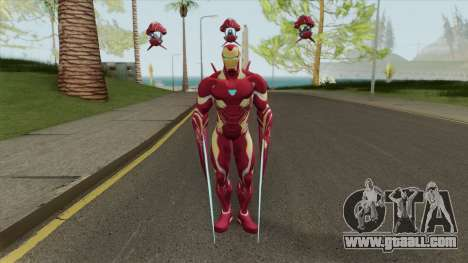 Iron Man Mark S Skin for GTA San Andreas
