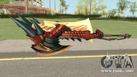 Monster Hunter Weapon V4 for GTA San Andreas