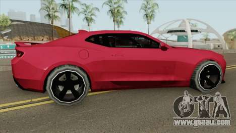Chevrolet Camaro SS 2017 (SA Style) for GTA San Andreas
