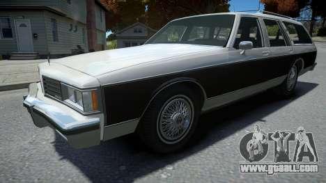 Oldsmobile Custom Cruiser 1985 for GTA 4