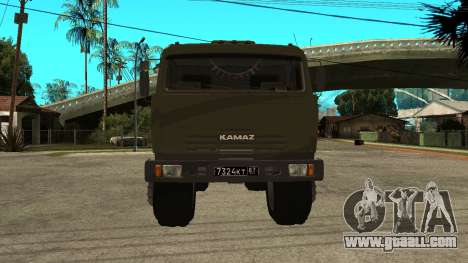 KamAZ 54115 Military for GTA San Andreas