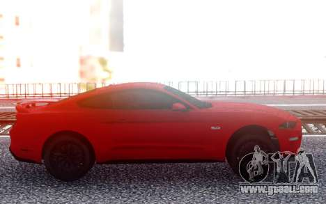 Ford Mustang GT 2019 for GTA San Andreas