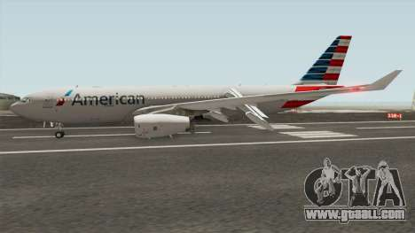 Airbus A330-200 RR Trent 700 (American Airlines) for GTA San Andreas