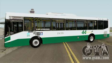 Linea 44 Todobus Pompeya II Agrale MT17 Interno for GTA San Andreas