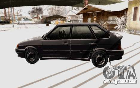 VAZ 2114 Winter for GTA San Andreas