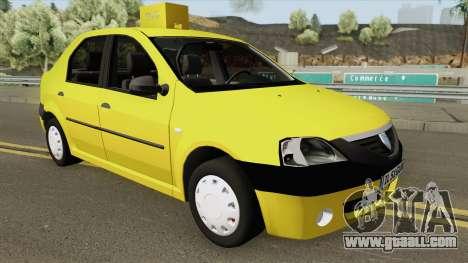 Dacia Logan Taxiul Lui Rata 2004 for GTA San Andreas