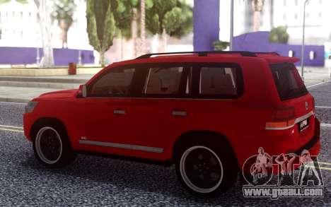 Toyota Land Cruiser 200 B7 for GTA San Andreas
