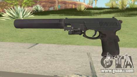 SR1M Pistol Suppressed for GTA San Andreas