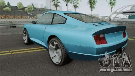 Comet GTA IV for GTA San Andreas