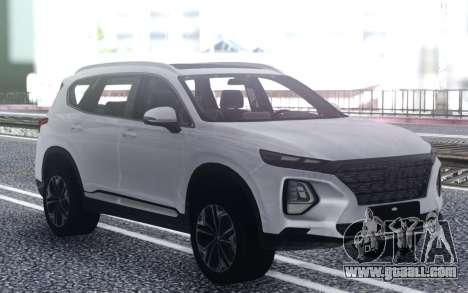 Hyundai Santa Fe 2019 for GTA San Andreas