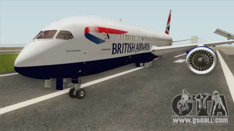 Boeing 787-8 Dreamliner (British Airlines) for GTA San Andreas