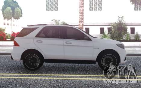 Mercedes-Benz GLE 63s FIX Gray for GTA San Andreas