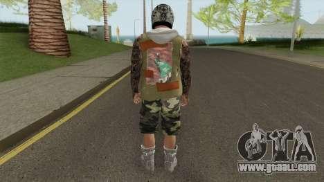 Skin Random 167 (Outfit Gunrunning) for GTA San Andreas