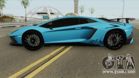 Lamborghini Aventador LP750-4 SV for GTA San Andreas
