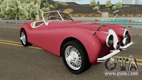 Jaguar XK120 for GTA San Andreas