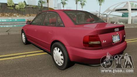 Audi A4 B5 1.8T 1999 (US-Spec) for GTA San Andreas