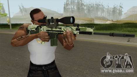 CS-GO SCAR-20 (Jungler Skin) for GTA San Andreas