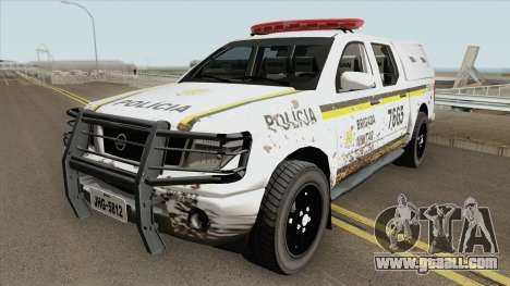 Nissan Frontier Brazilian Police (Dirty) for GTA San Andreas