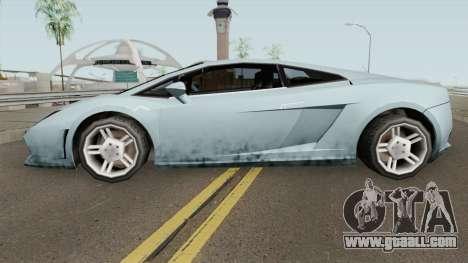 Lamborghini Gallardo SA Style TCGTABR for GTA San Andreas