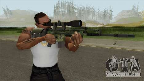 CS-GO SCAR-20 (Peacemaker Skin) for GTA San Andreas