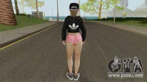 Misaki Casual for GTA San Andreas