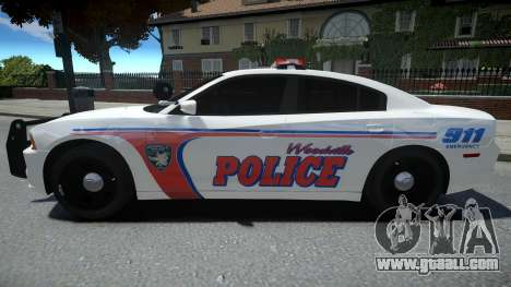 Dodge Charger Woodville Police 2014 for GTA 4