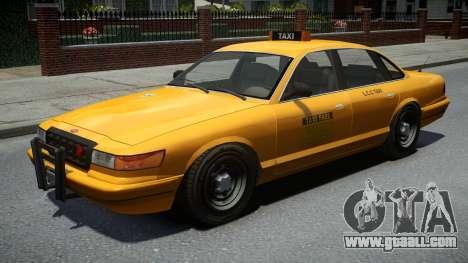 Vapid Stanier Classic Taxi for GTA 4
