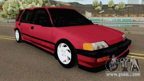 Honda Civic Wagon 1991 for GTA San Andreas