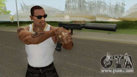 Contract Wars Glock 18 Extended Suppressed for GTA San Andreas