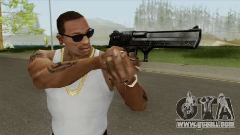 Desert Eagle Black GTA IV for GTA San Andreas
