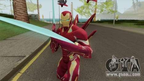 Iron Man Mark S Skin for GTA San Andreas