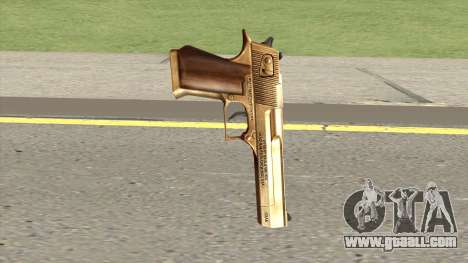 Desert Eagle Gold GTA IV for GTA San Andreas