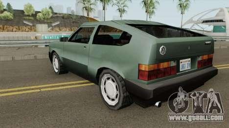 Volkswagen Gol GTi 1990 Beta 2 TCGTABR for GTA San Andreas