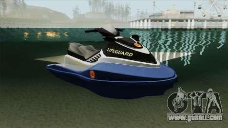 Seashark Lifeguard for GTA San Andreas