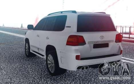 Toyota Land Cruiser 200 Zeus for GTA San Andreas