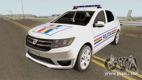 Dacia Logan 2 2016 Politia Romana for GTA San Andreas