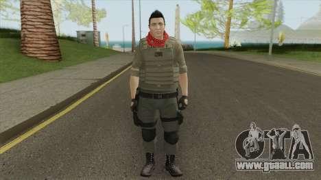 Skin Random 173 (Outfit Heist) for GTA San Andreas
