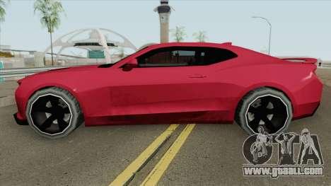Chevrolet Camaro SS 2017 (SA Style) for GTA San Andreas