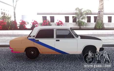 VAZ 2107 Tuning for GTA San Andreas