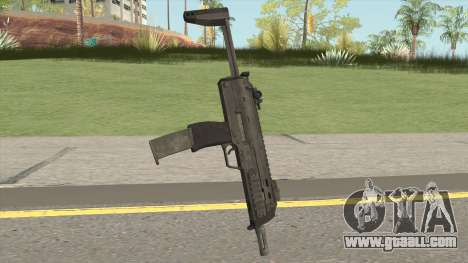 Battle Carnival MP7 for GTA San Andreas