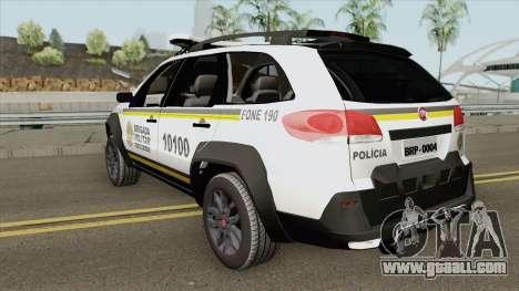 Fiat Palio Weekend - Nova Pintura for GTA San Andreas