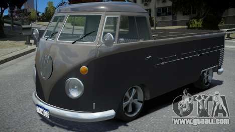 Volkswagen Kombi Pick-Up T2 Bus for GTA 4