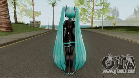 Hot Hatsune Miku Latex for GTA San Andreas