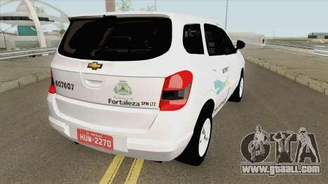 Chevrolet Spin Taxi De Fortaleza for GTA San Andreas