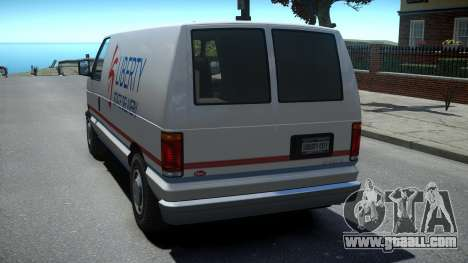 Vapid Steed 1500 Cargo Van for GTA 4