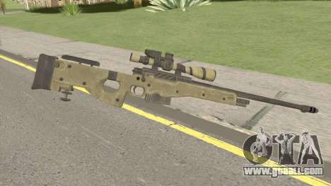 COD: Ghosts L115 Sniper for GTA San Andreas