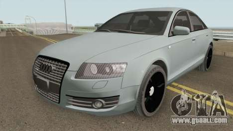 Audi A6 C6 Black Edition for GTA San Andreas