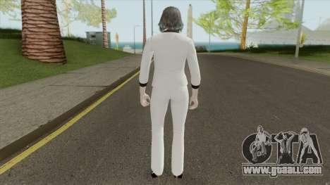 Female Random Skin 3 From GTA V Online for GTA San Andreas